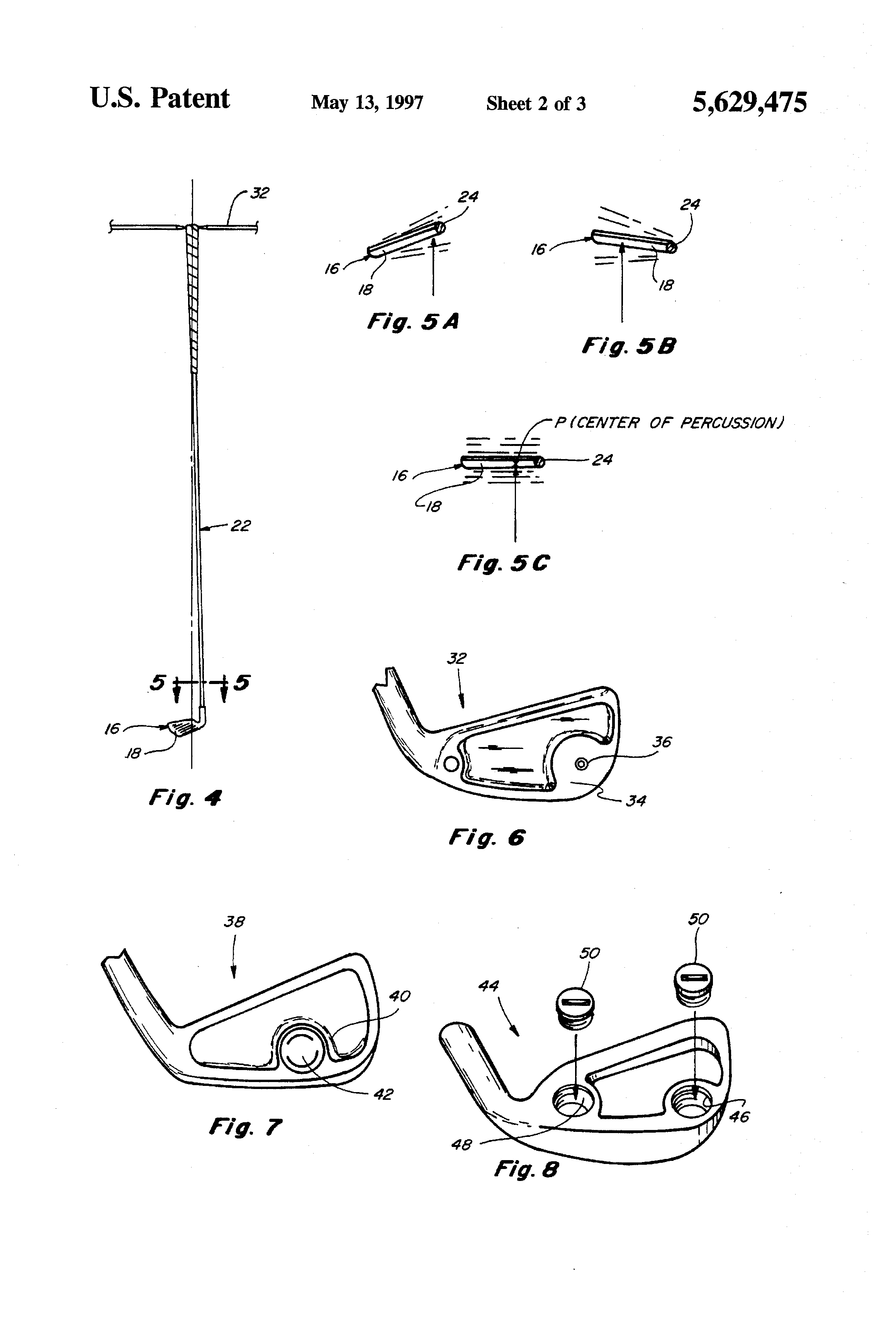 2320x3408 Patent Drawing Patent Drawing Golf Clubs And Golf