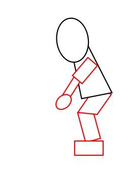 250x332 Drawing A Cartoon Golfer