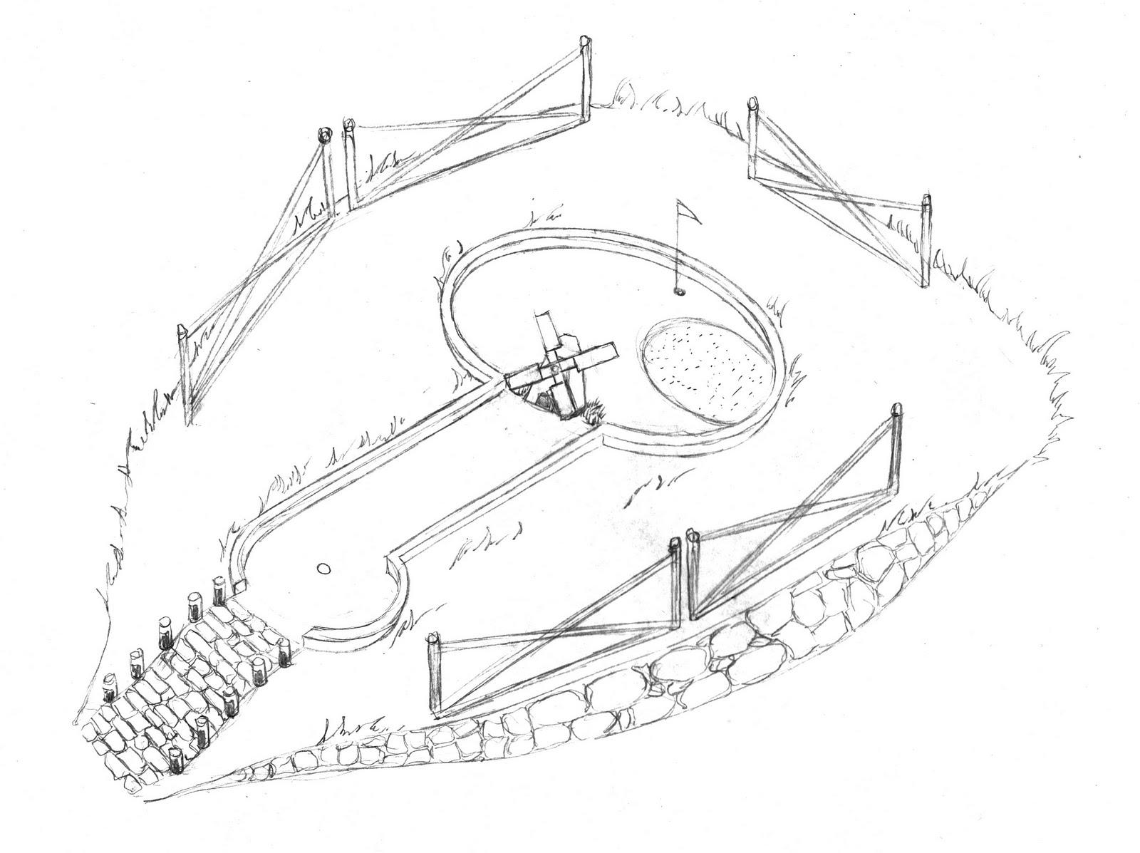 1600x1197 Lamin Illustration Amp Design Transitions Mini Golf Championship