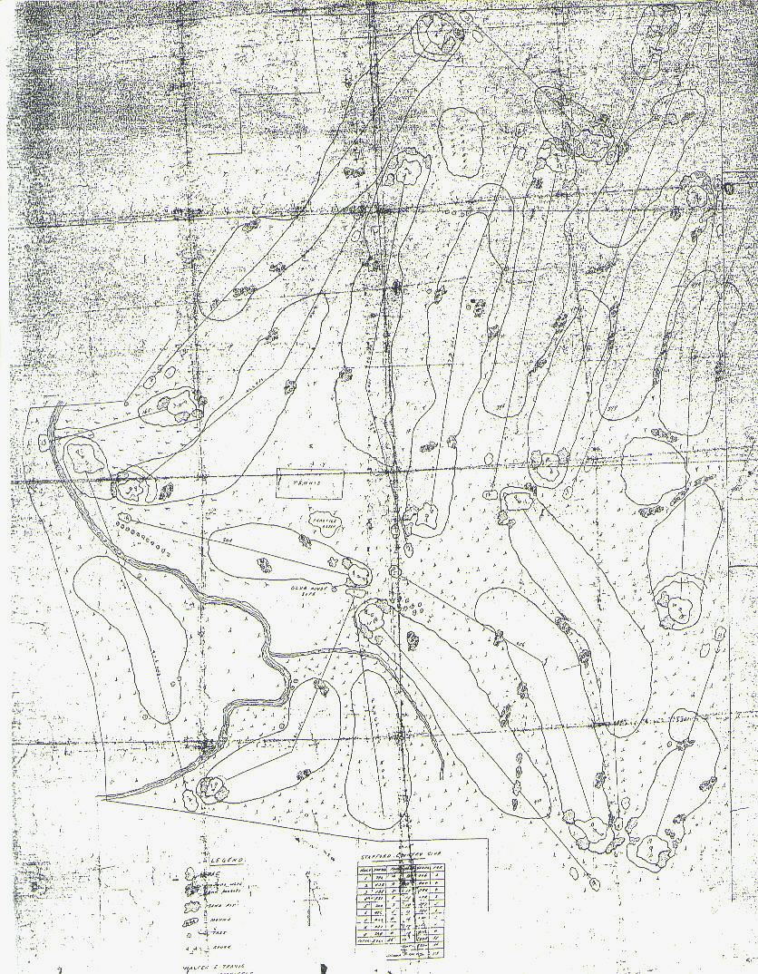836x1074 Travis Course Drawings The Walter J. Travis Society