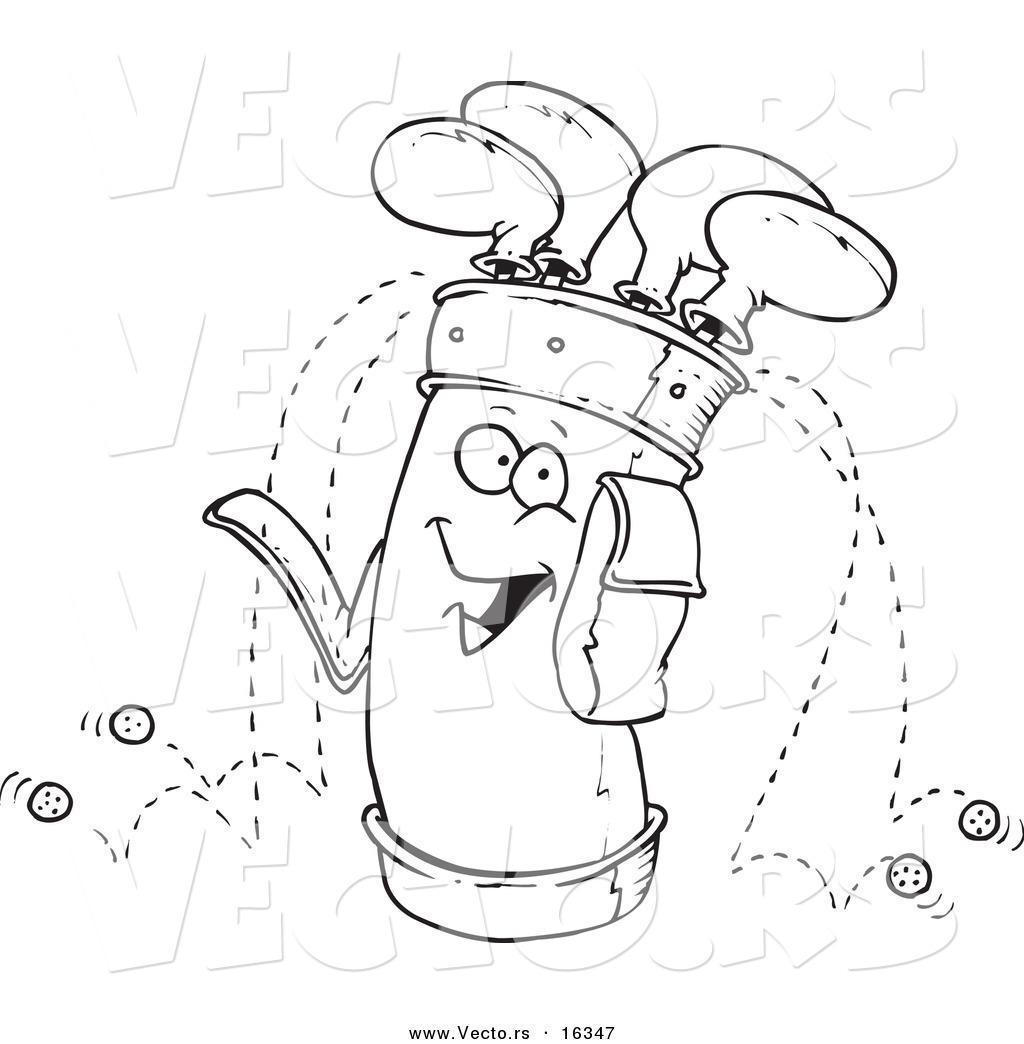 1024x1044 Vector Of A Cartoon Golf Bag