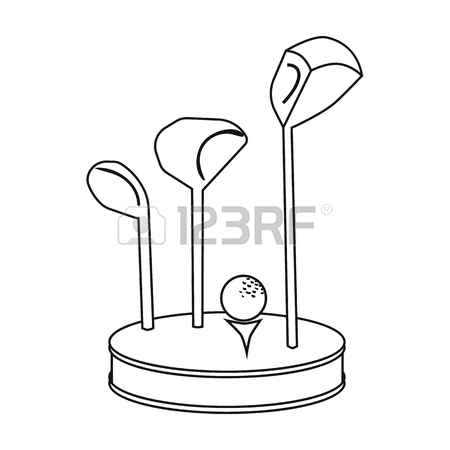 Golf Flag Drawing