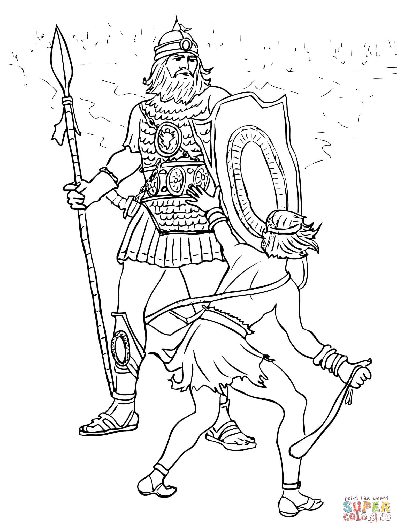 Goliath Drawing at GetDrawings.com | Free for personal use ...