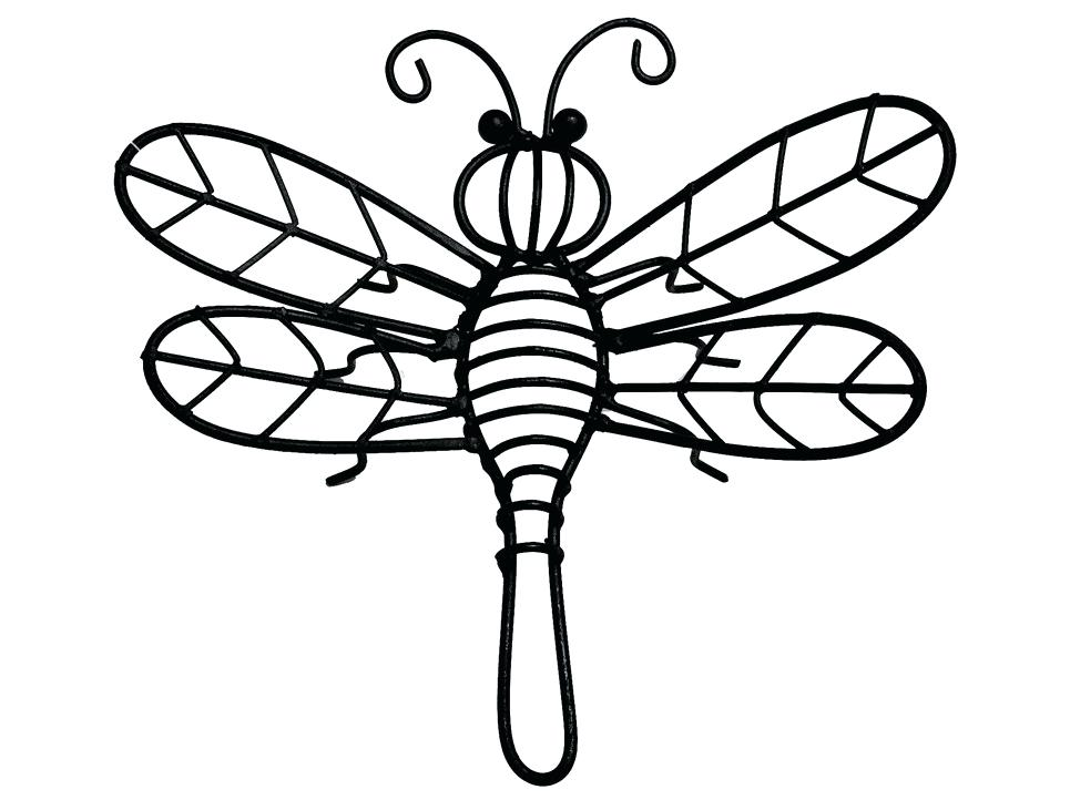 965x722 Metal Dragonfly Wall Decor Dragon Fly Drawings Good Luck Dragonfly