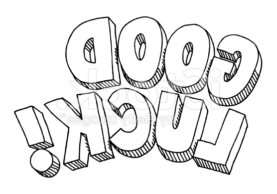 556x389 The Best Good Luck Coloring Pages