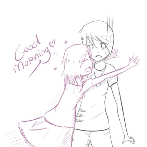 500x500 Good Morning Sketch Images Good Morning