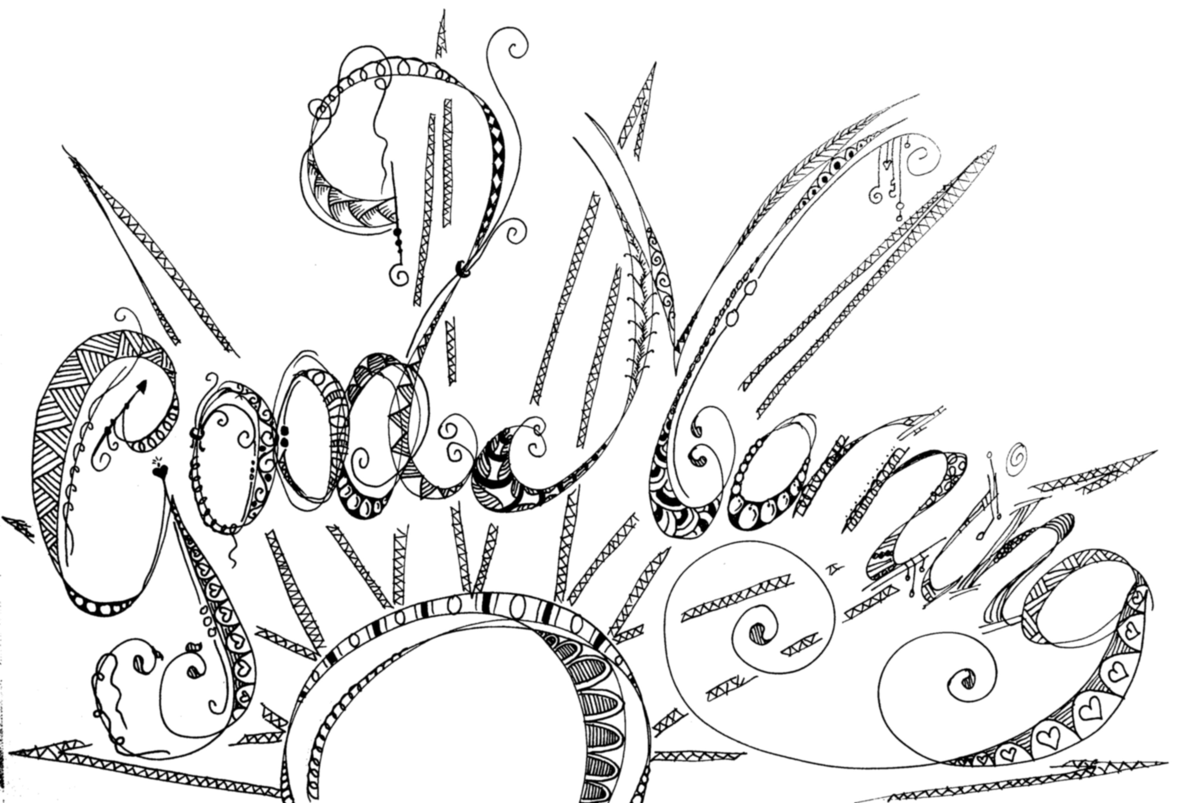3999x2704 Lovely Zenspirations Good Morning! Typography