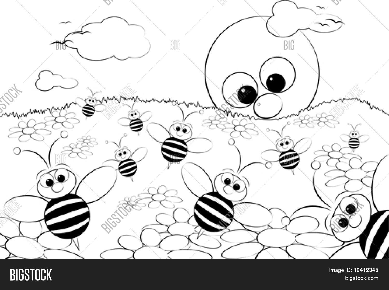 1500x1119 Coloring Page Kids