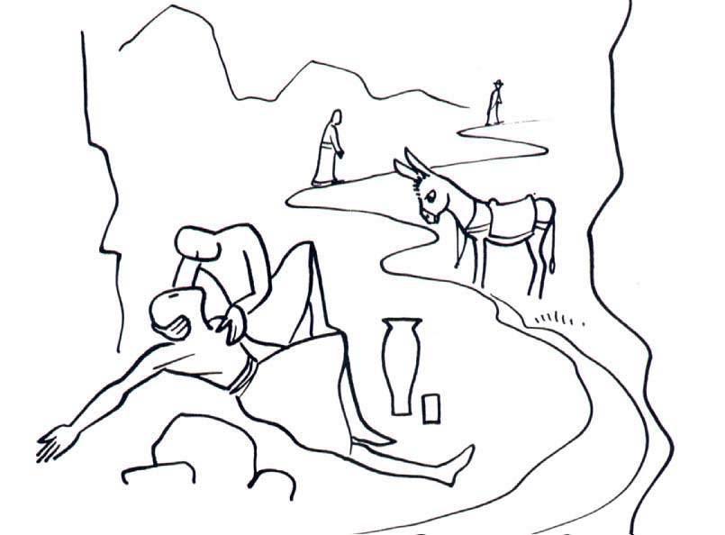 Good Samaritan Drawing