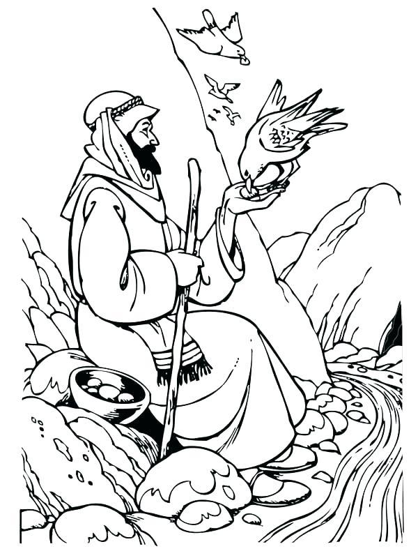 600x800 Good Samaritan Coloring Page