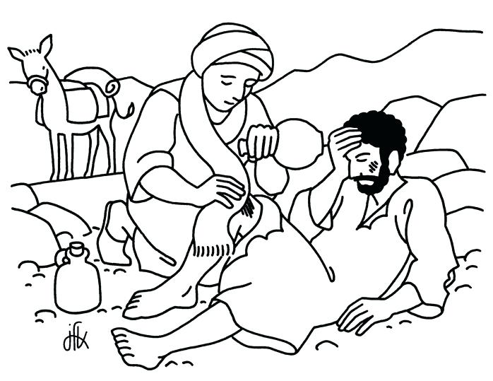 698x539 Good Samaritan Coloring Page Doodles The Good Coloring Page Good
