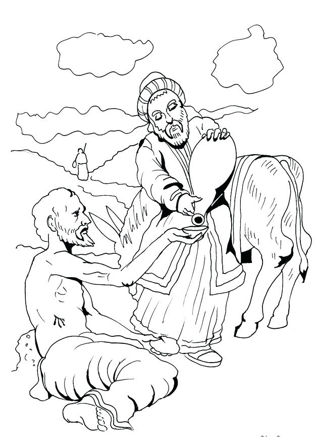 624x864 Good Samaritan Coloring Page Good Coloring Pages As A Learning