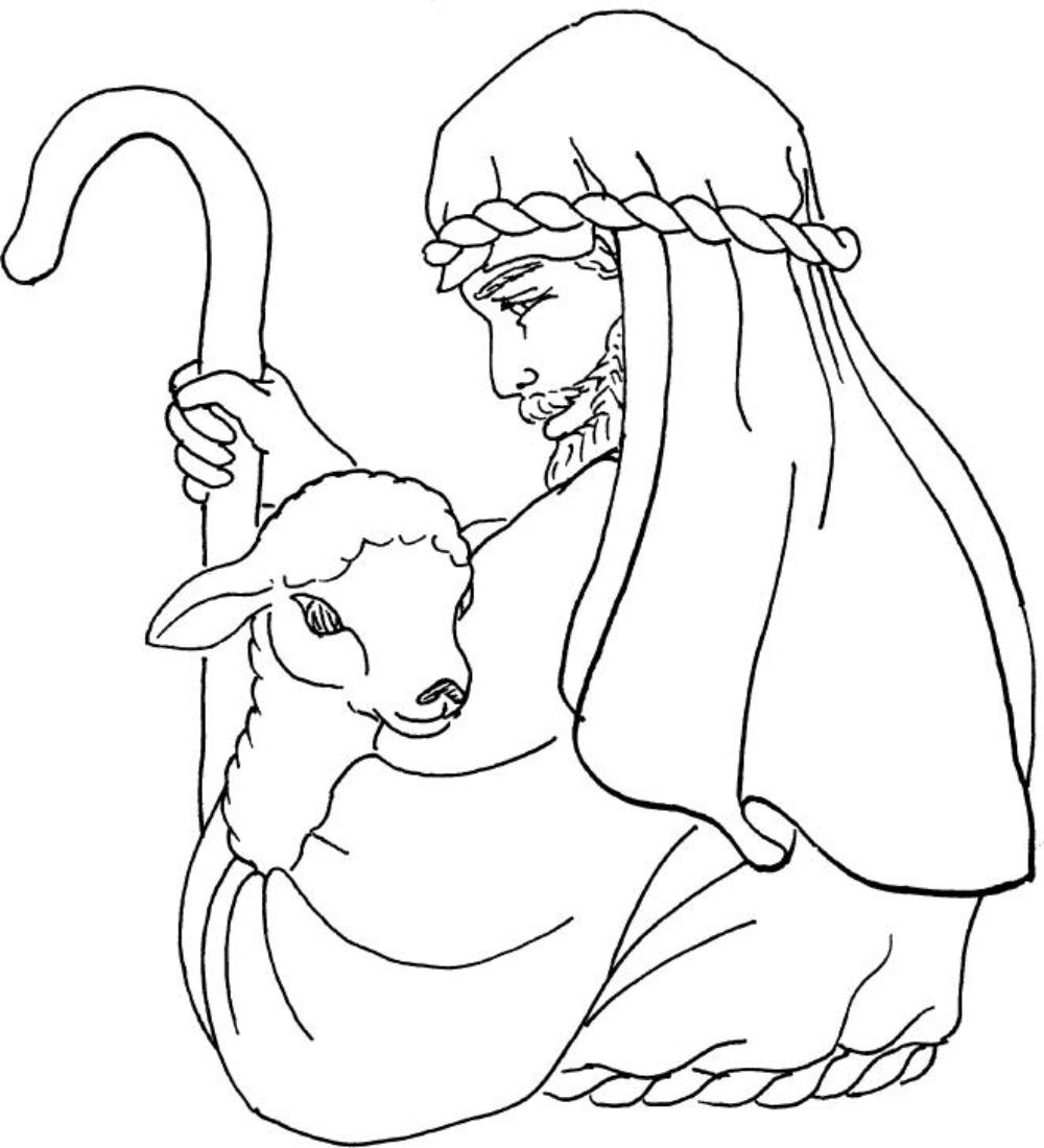 Good Shepherd Drawing
