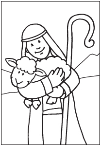 Good Shepherd Drawing At Getdrawings Com Free For Personal Use