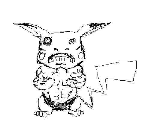 503x415 20 Disturbingly Realistic Pokemon Drawings Smosh