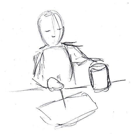 456x461 Gesture Drawing