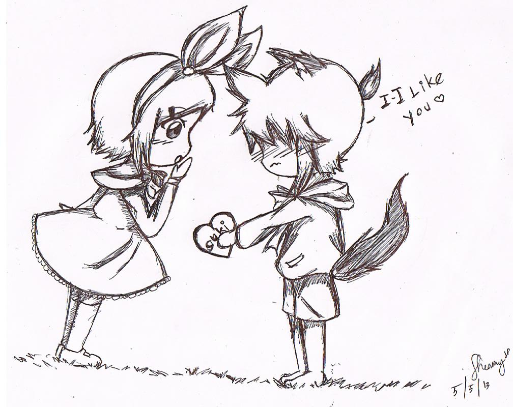 1008x800 Love Drawing For Girlfriend Cute Doodles To Draw For Your
