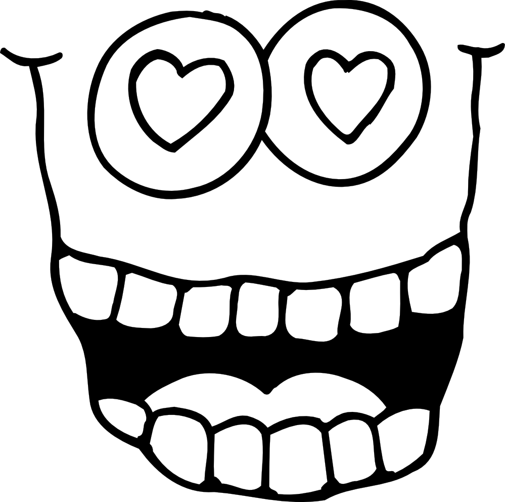 999x992 Googly Eyes Coloring Pages Coloring Page Ear Hearing