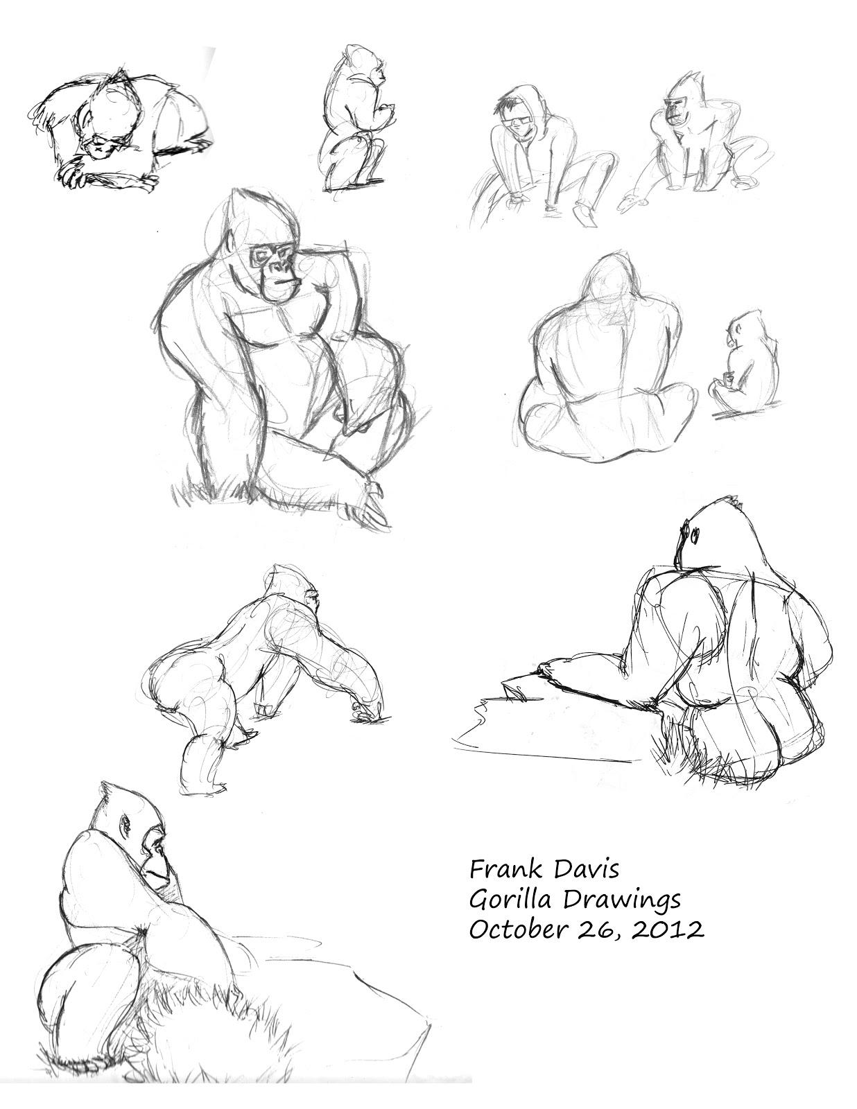 1236x1600 Sketchy More Gorillas