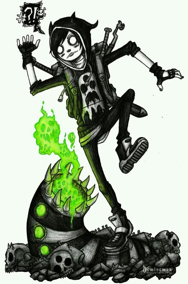 Goth Drawing