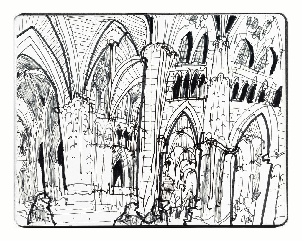 1024x819 The World's Newest Photos Of Church And Drawing
