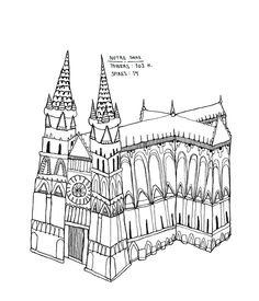 236x275 Drawings Of Gothic Cathedrals