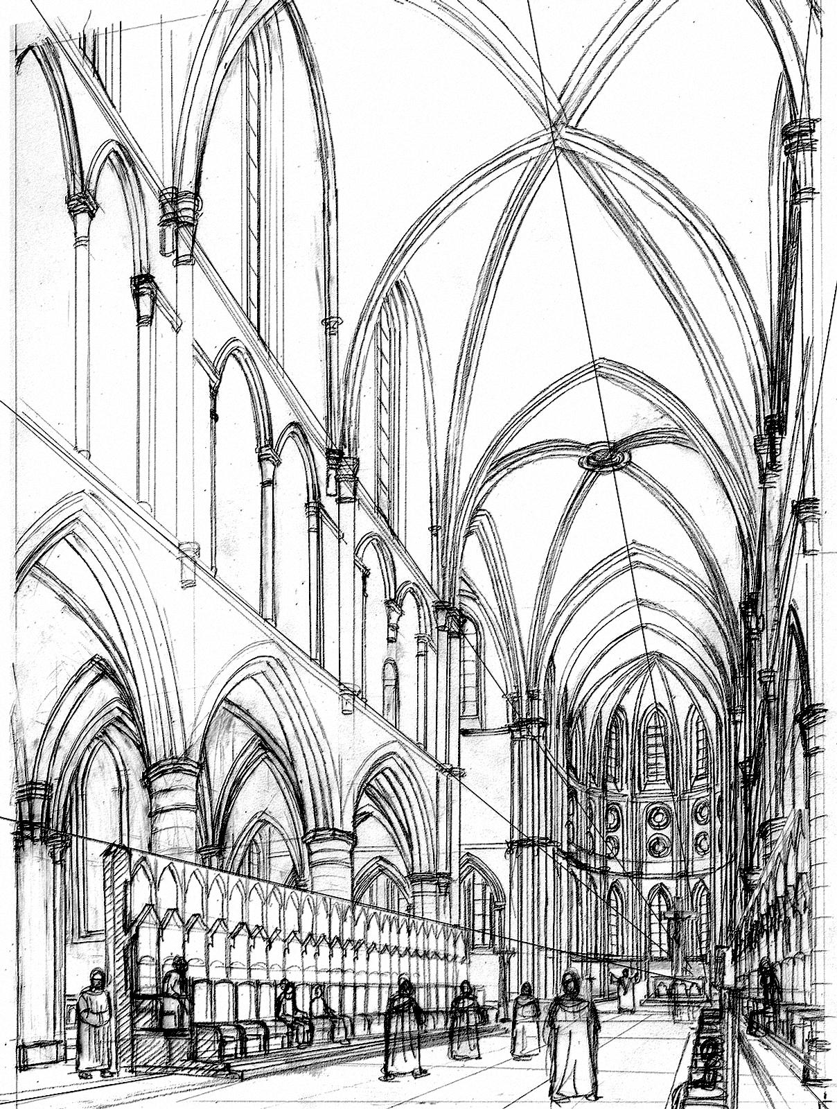 1208x1600 Eglise Jhen De Martin Art Colour Book, Medieval