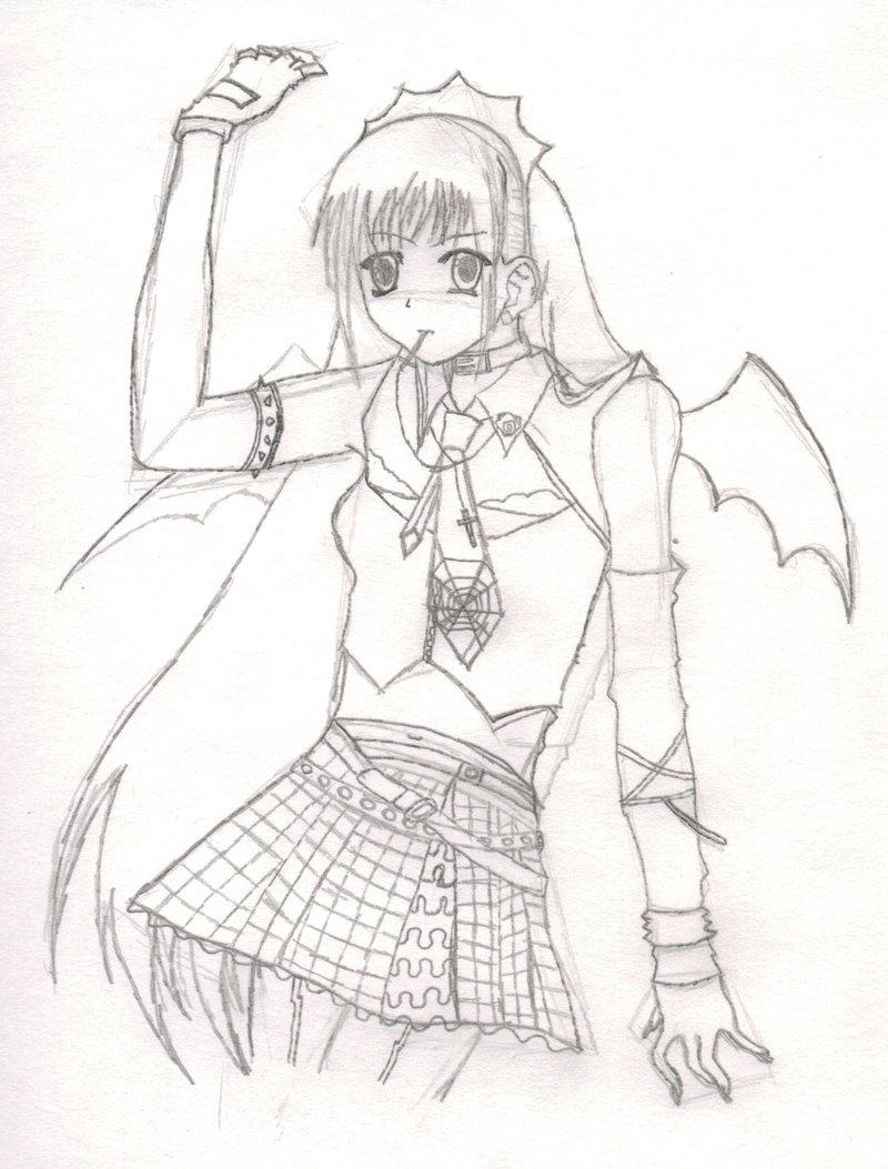 800x1053 Gothic Anime Girl By Anima428
