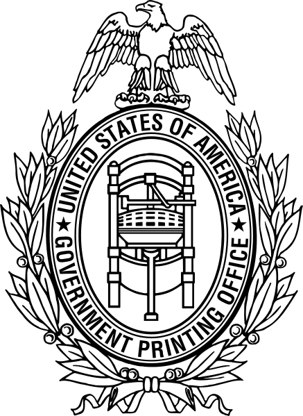 437x599 Government Printing Office Government Publishing Office Gpo