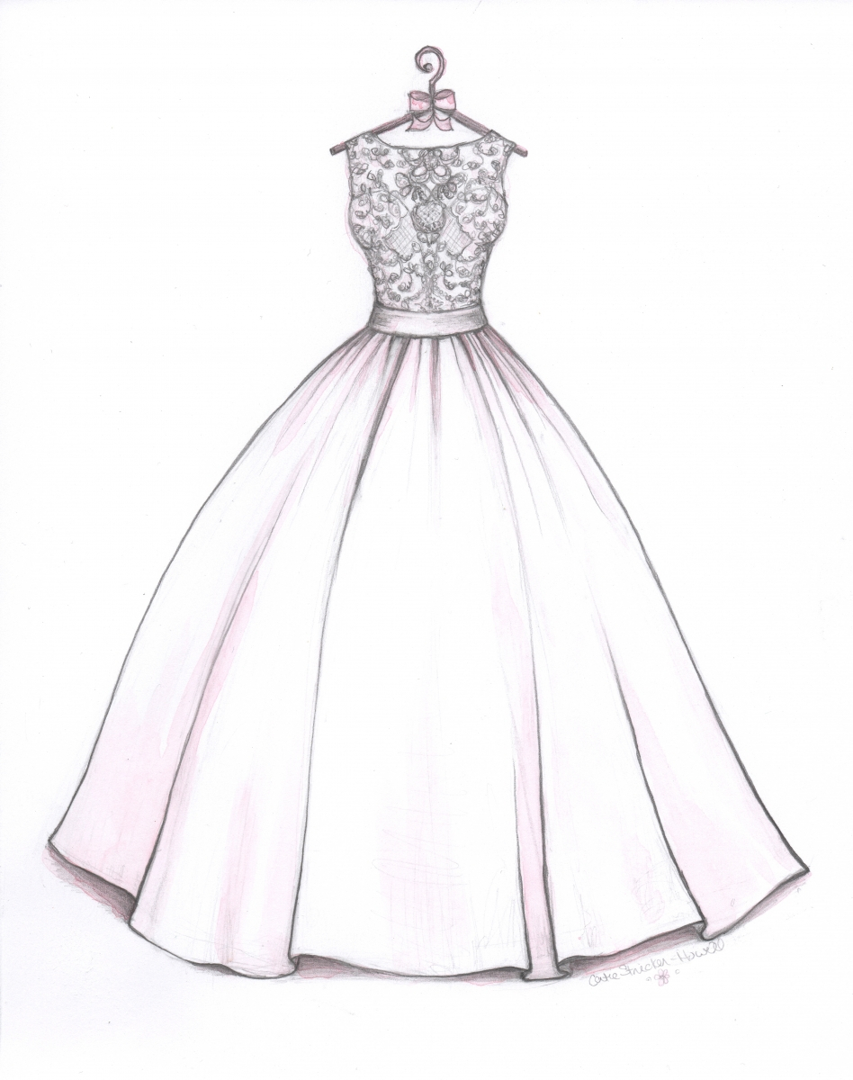 948x1200 Wedding Dress Drawing Drawn Wedding Dress Ball Gown Dress