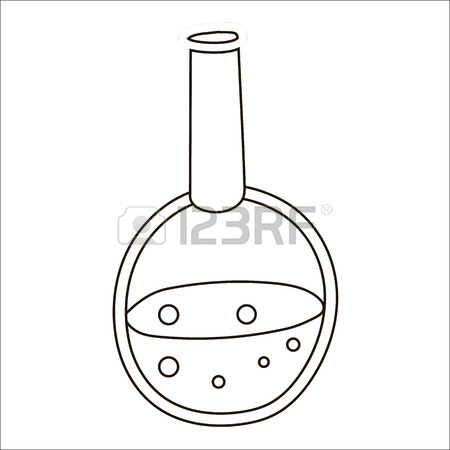 Graduated Cylinder Drawing At Getdrawings Com Free For Personal