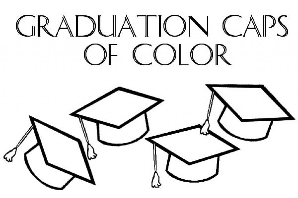 1024x682 Graduation Cap Outline Group