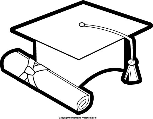 595x462 Graduation Hat Graduation Clipart White Cap Pencil And In Color