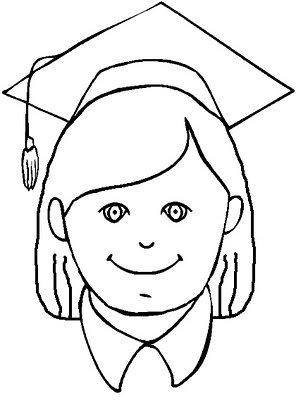 296x400 Graduation Coloring Pages