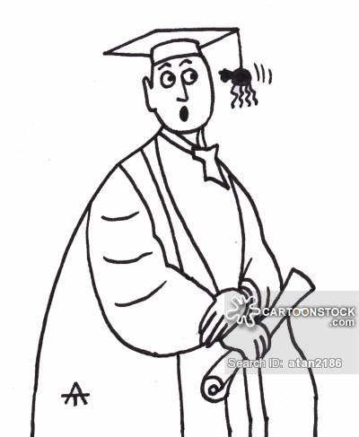 400x487 Graduation Robe Cartoons And Comics