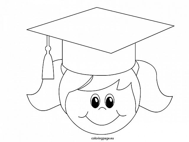 640x480 Graduation Cap Coloring Pages Printable Free Free Coloring Book