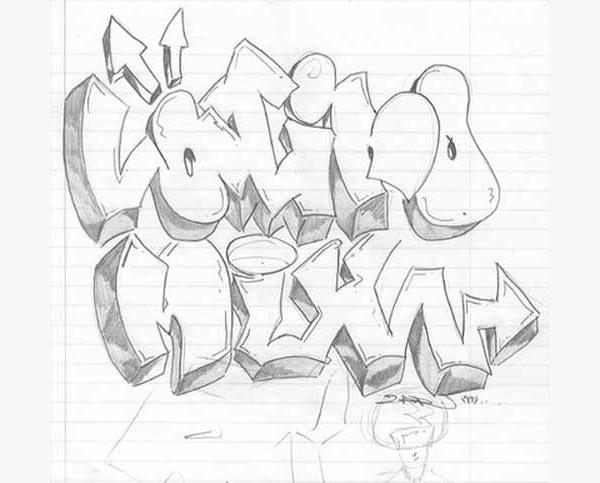 Graffiti Art Drawing