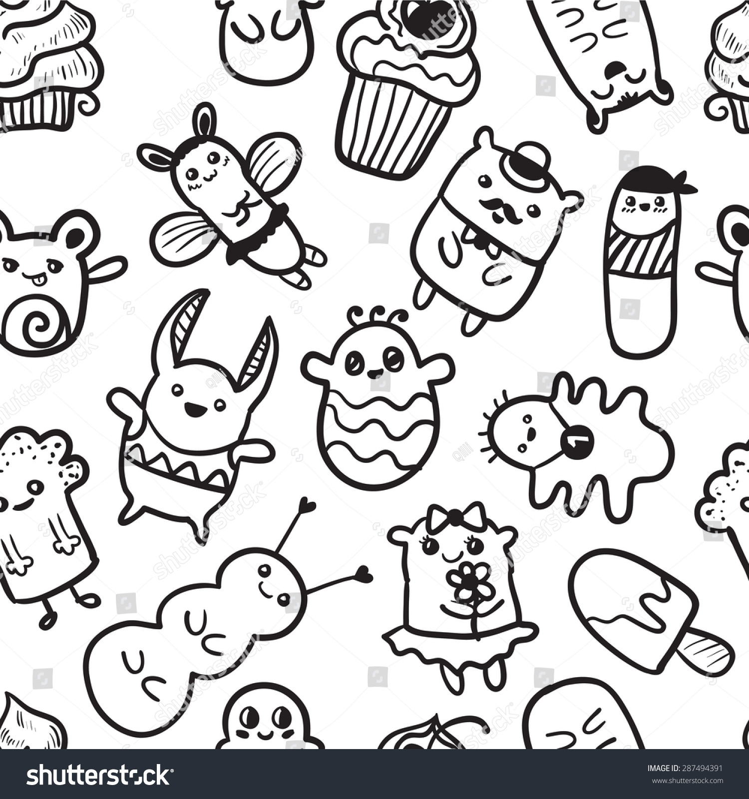 1500x1600 Graffiti Doodle Monster Doodle Monster Graffiti Guerilla Street