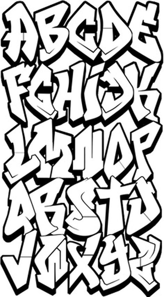 564x1018 Graffiti Alphabet Exploration