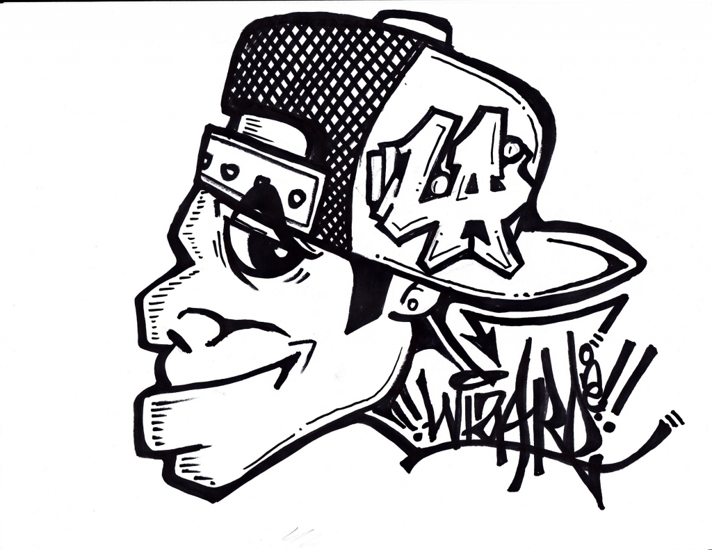 1024x791 Gas Mask Crazy Character Graffiti Characters Gas Mask Drawings How