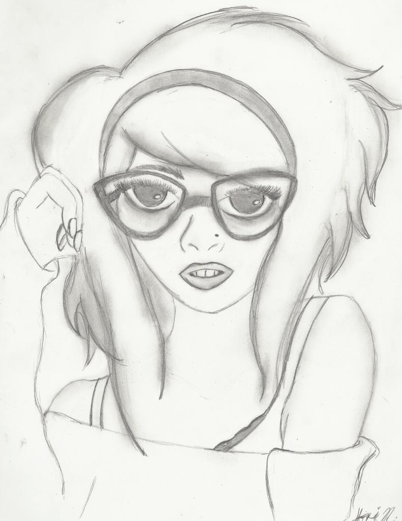789x1024 Graffiti Girl Drawings