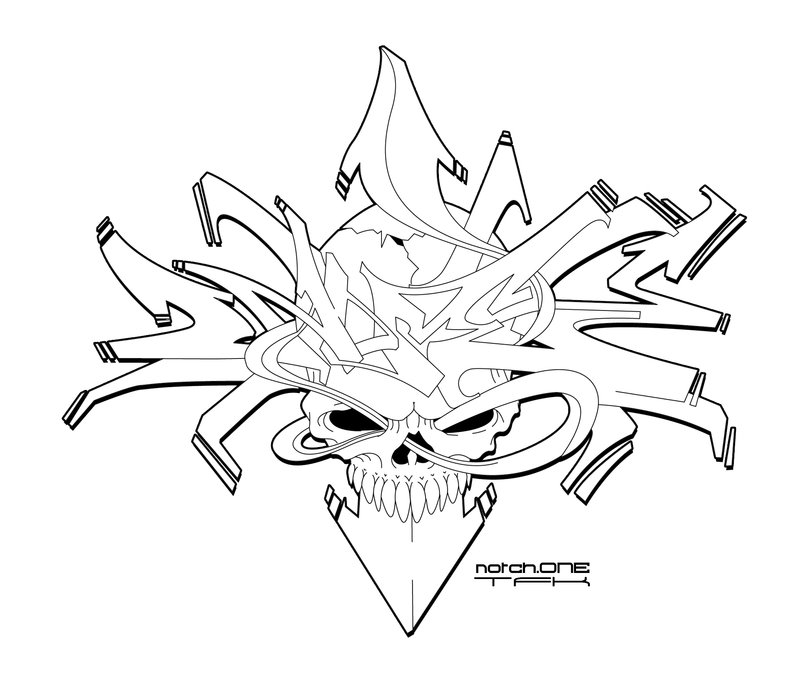 800x688 Graffiti Death Dome V2 By Sikwidink