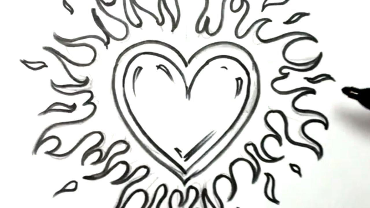 1280x720 Graffiti Drawings Of Hearts Graffiti Drawings Of Hearts With Wings