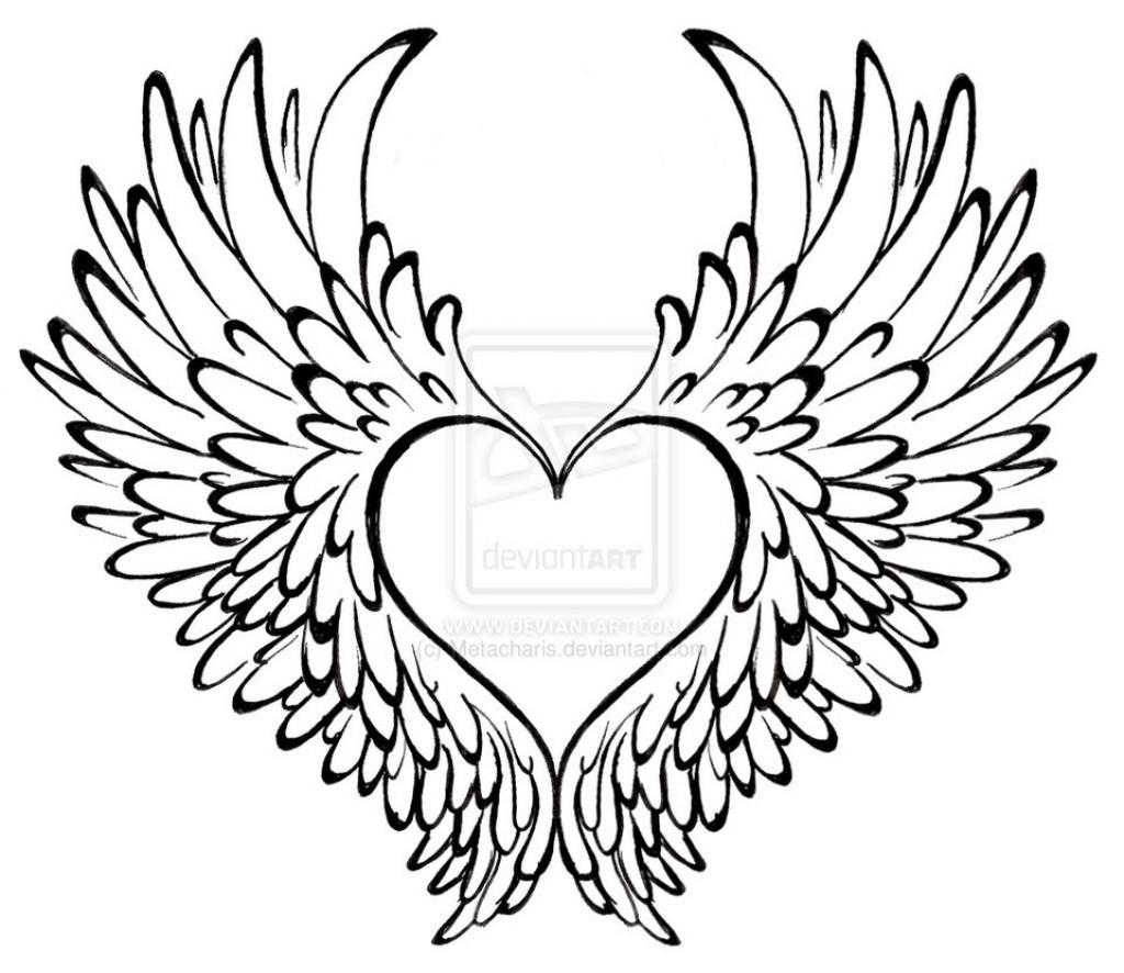 1024x886 Graffiti Heart Drawing