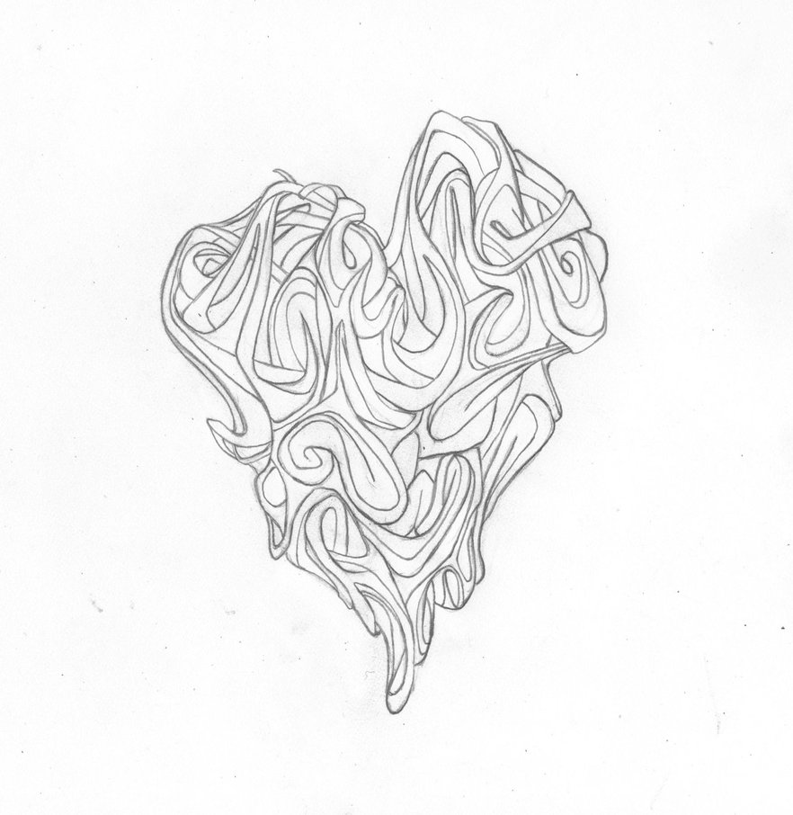 882x906 Graffiti Heart Complex By Freshart101