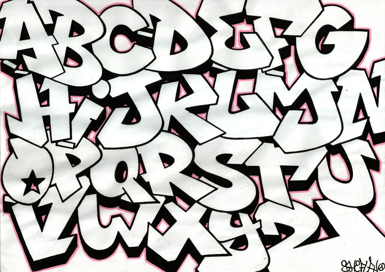1280x905 How To Draw Graffiti Letters A Z Graffiti Alphabet Graffiti