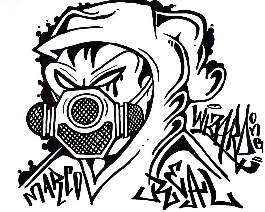 1024x818 How Draw Graffiti