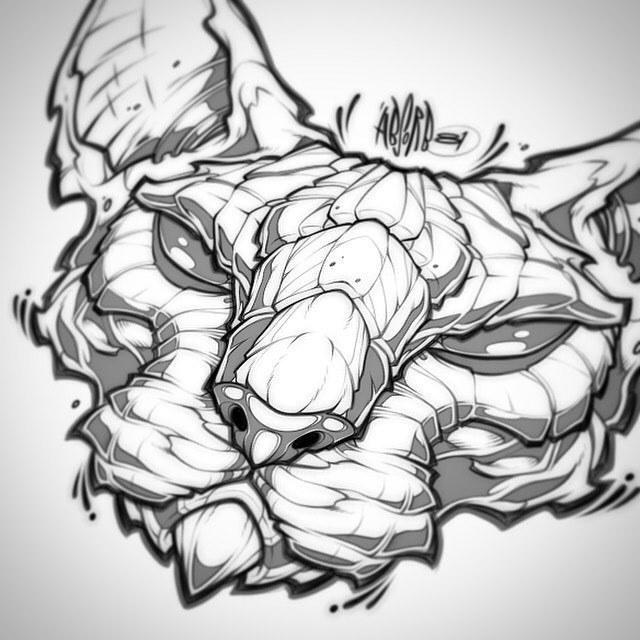 640x640 Absorb81 Sphynx Cat Sketch.