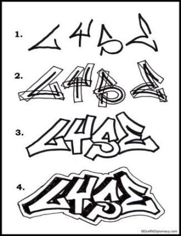358x466 Drawn Graffiti Graffiti Art