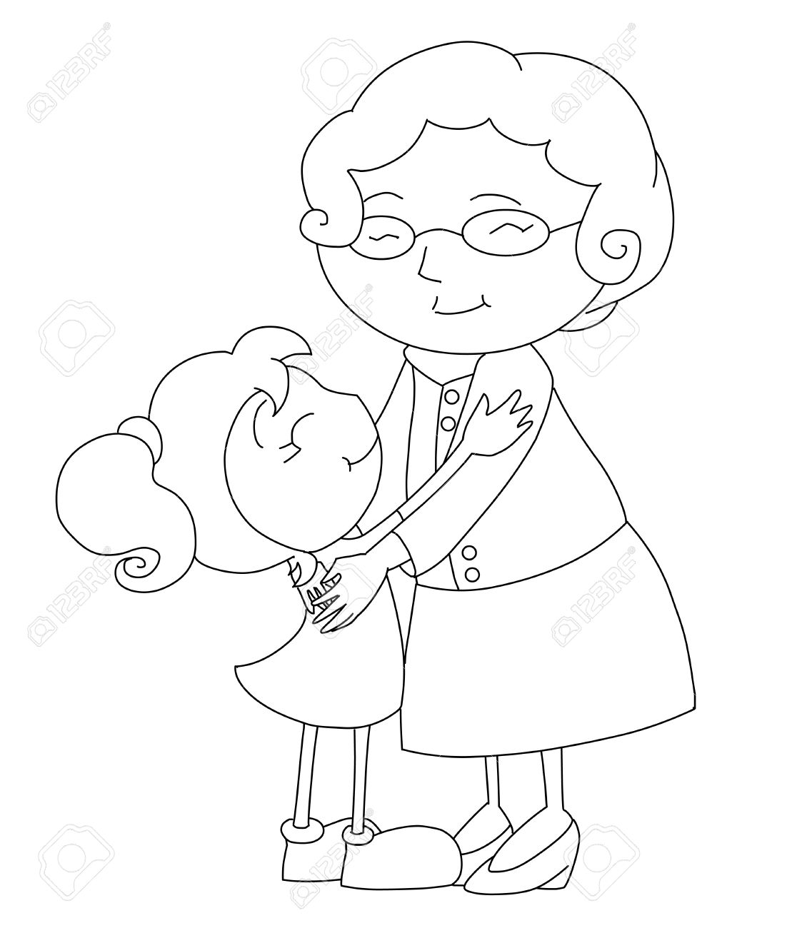 1109x1300 Grandma Stock Photo, Picture And Royalty Free Image. Image 11034828.